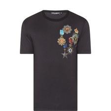 Medal Print T-Shirt