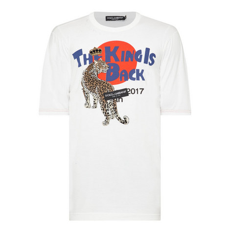Leopard King is Back T-Shirt, ${color}