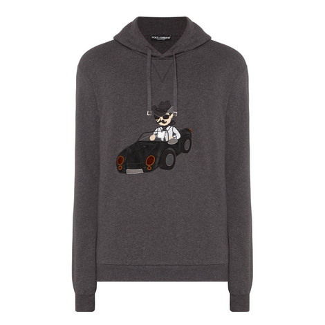 Car Embroidery Hoodie, ${color}