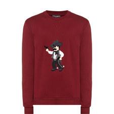 Cowboy Appliqué Sweatshirt