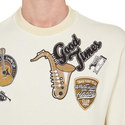Music Badge Sweatshirt, ${color}