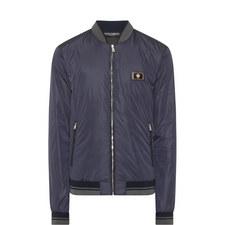 Crown Plaque Bomber Jacket
