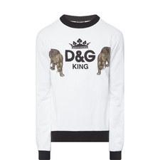 Leopard King Sweatshirt
