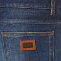 Branded Plaque Slim Jeans, ${color}