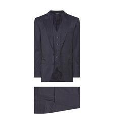 Sicilia Check Three Piece Suit