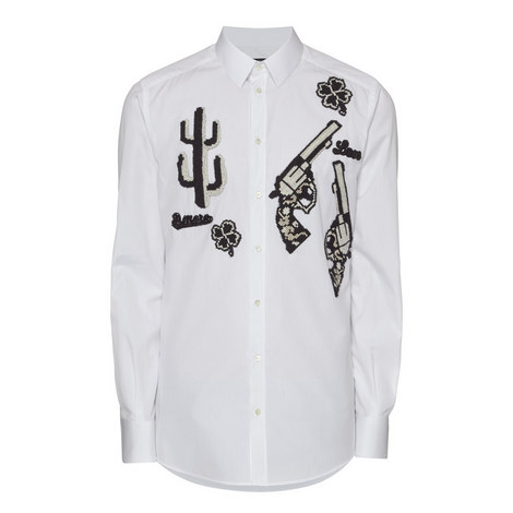 Embroidered Show Shirt, ${color}