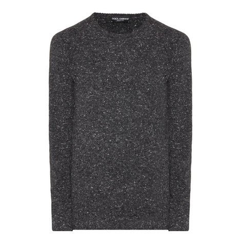 Melange Wool Mix Sweater, ${color}