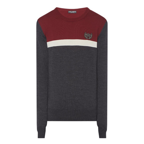 Crown Crew Neck Sweater , ${color}