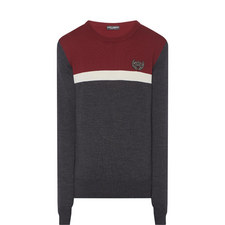 Crown Crew Neck Sweater