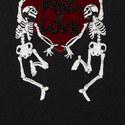 King of Love Skeleton Sweater, ${color}