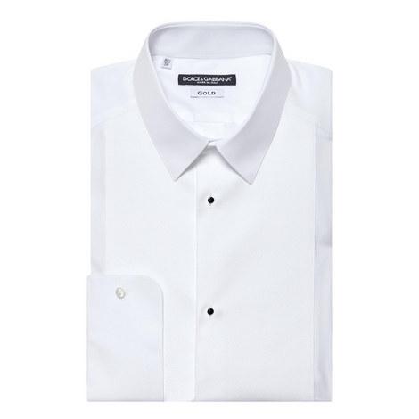Textured Tuxedo Shirt, ${color}