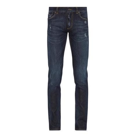 Destroyed Slim Jeans, ${color}