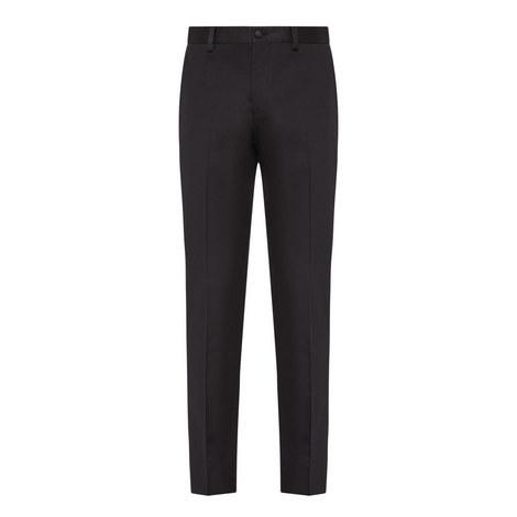 Grosgrain Trim Trousers, ${color}