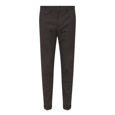 Lambretta Cropped Pocket Trousers, ${color}