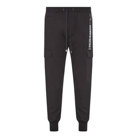 Slim Cuff Cargo Trousers, ${color}