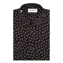 Polka Dot Crepe Shirt, ${color}