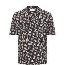 Japan Floral Bowling Shirt
