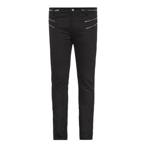 Zip Detail Jeans, ${color}