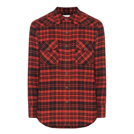 Plaid Flannel Shirt, ${color}