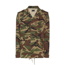 Back Appliqué Military Jacket