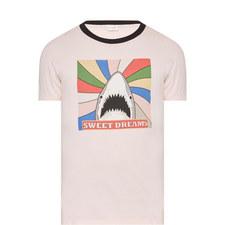 Shark Graphic Print T-Shirt