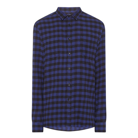 Buffalo Check Flannel Shirt, ${color}