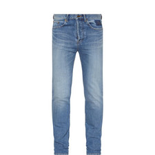 Stitch Pocket Skinny Jeans
