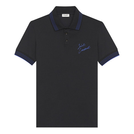 Signature Embroidered Polo Shirt, ${color}
