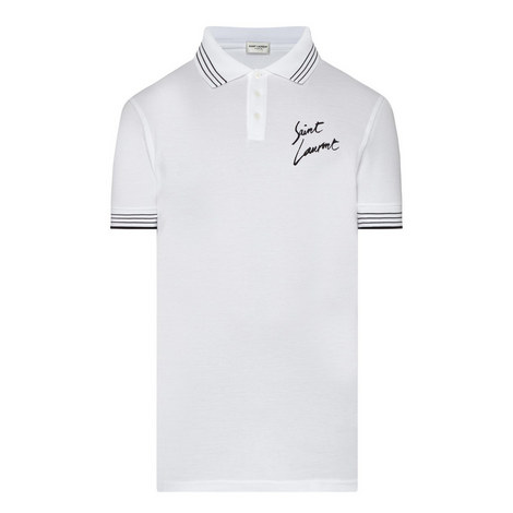 Signature Print Polo Shirt, ${color}