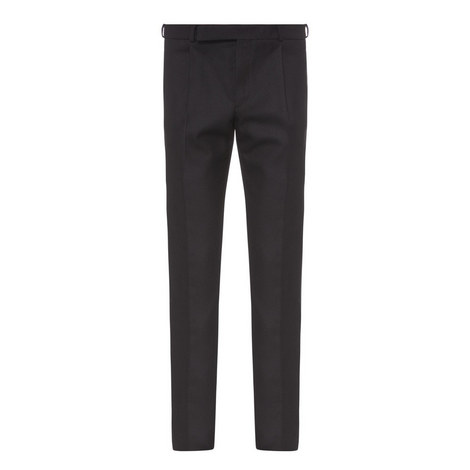 Single Pleat Formal Trousers, ${color}