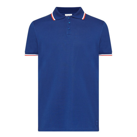 Trimmed Polo Shirt, ${color}