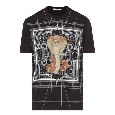 Colombian Fit Cobra Print T-Shirt, ${color}
