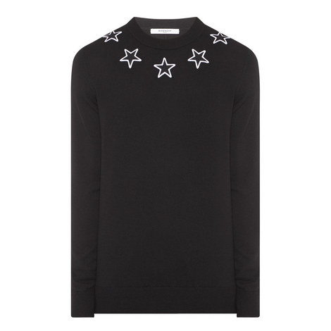 Star Crew Neck Sweater, ${color}