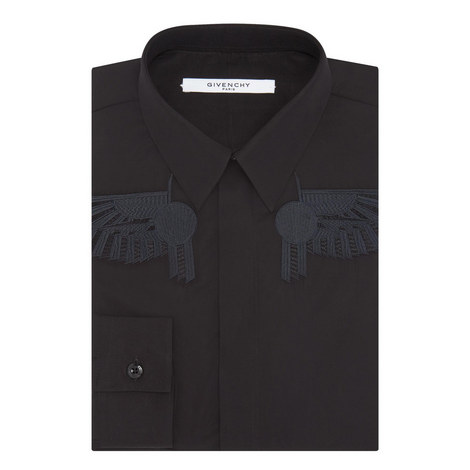Embroidered Wings Shirt, ${color}