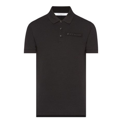 Velcro Logo Patch Polo Shirt, ${color}