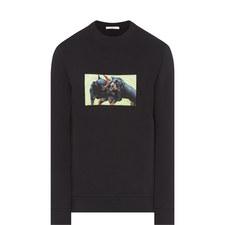 Rottweiler Crew Neck Sweatshirt