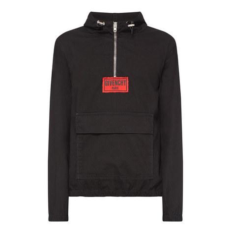 Overhead Zipped Denim Jacket, ${color}