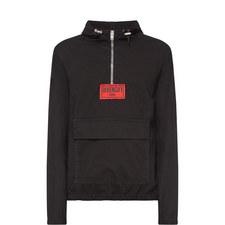 Overhead Zipped Denim Jacket