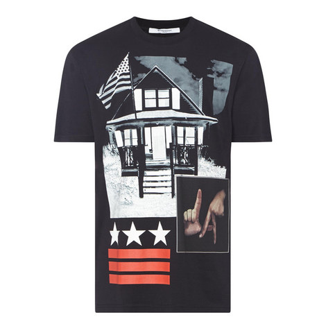 LA House Print T-Shirt, ${color}