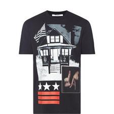 LA House Print T-Shirt