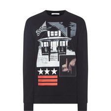 LA House Print Sweatshirt