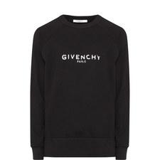 Destroy Logo Print Sweatshirt