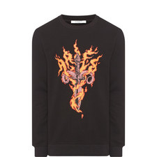Dagger Flame Sweatshirt