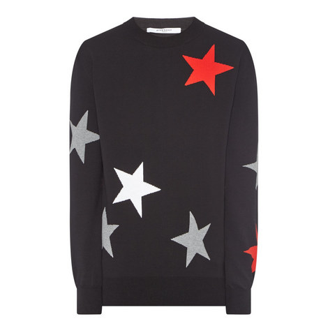 Star Pattern Sweater, ${color}