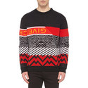 Multi-Pattern Sweater, ${color}