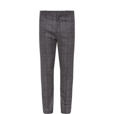 Check Pattern Trousers