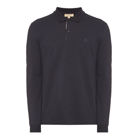 Oxford Long Sleeve Polo Shirt, ${color}