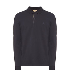 Oxford Long Sleeve Polo Shirt