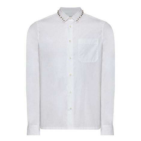 Rock Stud Collar Shirt, ${color}