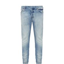 Slim Fit Stud Detail Jeans